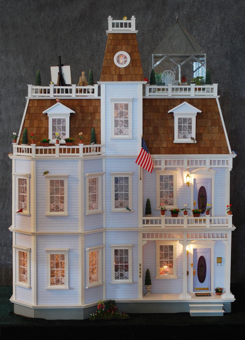 Becky Sander Cederlof Dollhouse Tour Home Page